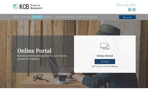 Tenant Portal - KCB Property Management