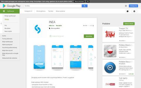 INEA – Aplikacje w Google Play