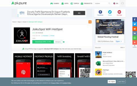 JoikuSpot WiFi HotSpot for Android - APK Download