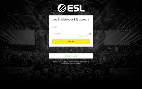 Log in | ESL ID