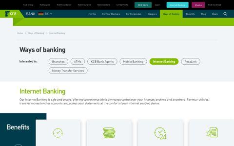 KCB Online Banking, KCB Internet Banking - KCB Bank ...