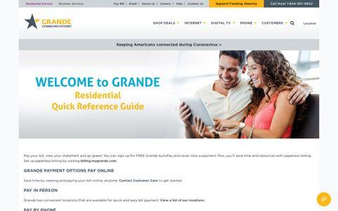 Pay My Bill - Grande Communications