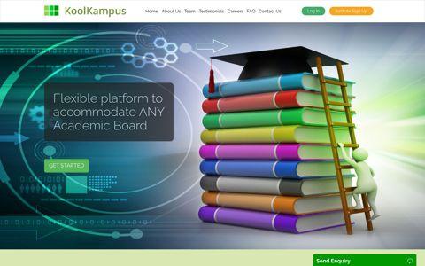 KoolKampus | A Cloud Based Education Platform