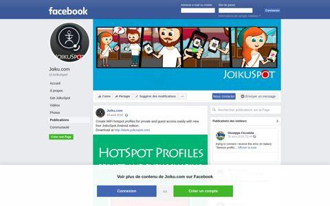 Joiku.com - Posts   Facebook