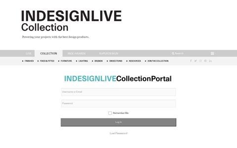 Login | Indesignlive - Architecture & Design