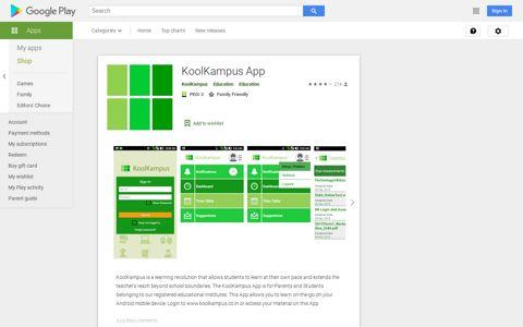 KoolKampus App – Apps on Google Play