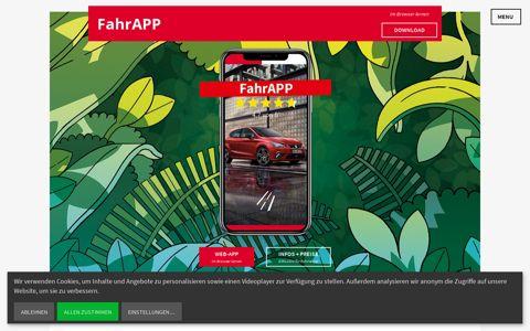 FahrAPP - Hol' dir deinen Führerschein!