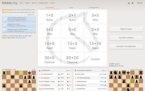 lichess.org • Free Online Chess