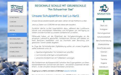 Homepage Schule BK - Lo-Net2