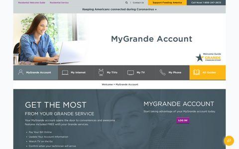 MyGrande Account - Grande Communications
