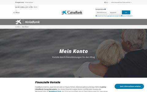 Mein Konto   HolaBank   CaixaBank