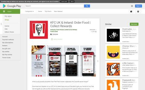 KFC UK & Ireland: Order Food   Collect Rewards - Apps on ...