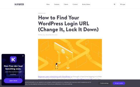 How to Find Your WordPress Login URL (Change It, Lock It ...