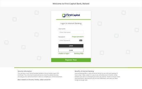 First Merchant Bank:Login to Internet Banking