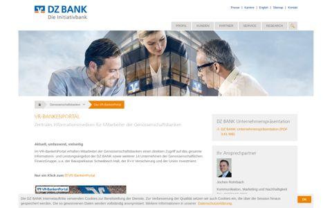 Das VR-BankenPortal - DZ BANK AG