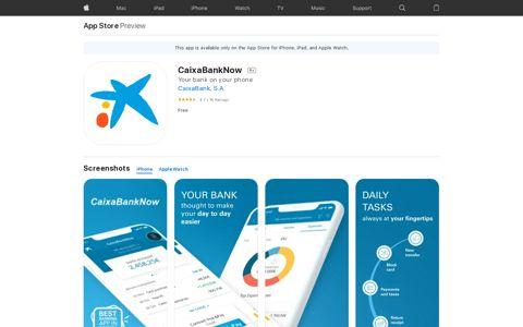 CaixaBank, SA - App Store - Apple