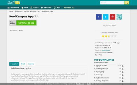 KoolKampus App 3.4 Free Download