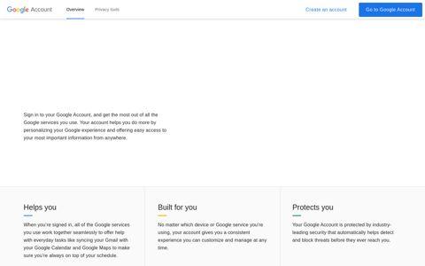 Fazer login nas Contas do Google - Google Account