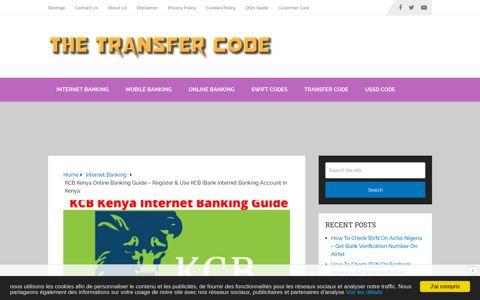 KCB Kenya Internet Banking Guide - Register & Use KCB ...