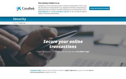 CaixaBank Sign   CaixaBank