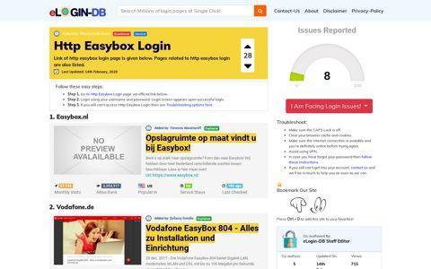Http Easybox Login