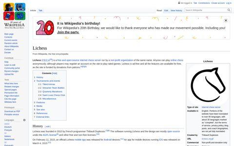 Lichess - Wikipedia