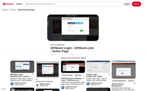 GIFBoom Login | Login, Make animated gif, Email password