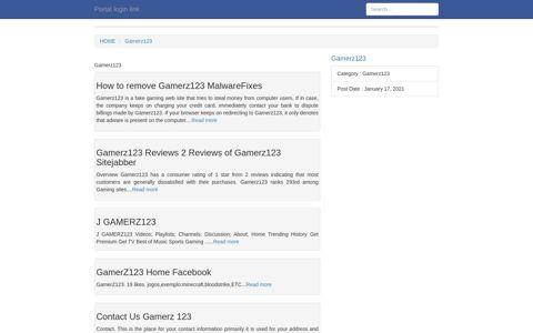 [LOGIN] Gamerz123 FULL Version HD Quality Gamerz123 ...