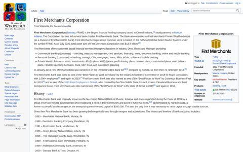 First Merchants Corporation - Wikipedia