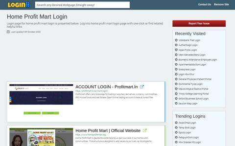 Home Profit Mart Login - Loginii.com