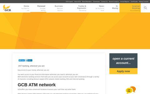 Mobile Banking - GCB Bank Limited