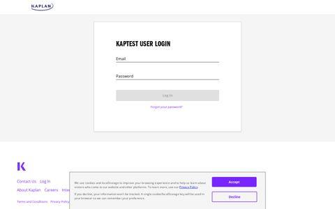 Kaplan Login - Kaplan Test Prep