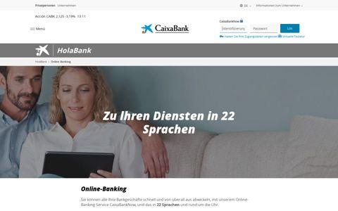 Online-Banking   HolaBank   CaixaBank