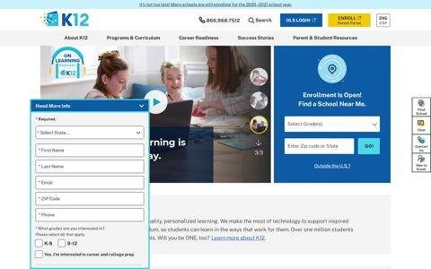 K12: Online Public School Programs | Online Learning ...