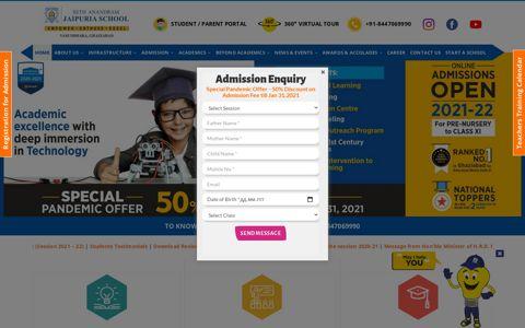 Seth Anandram Jaipuria School Ghaziabad | Best CBSE ...