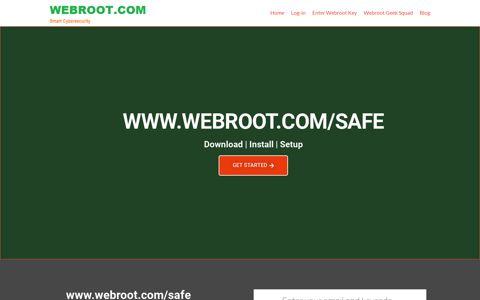 www.webroot.com/safe| Enter Webroot Key Code | webroot ...