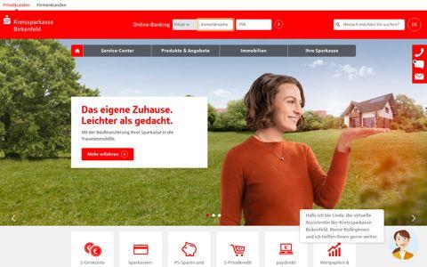 Kreissparkasse Birkenfeld: Internet-Filiale