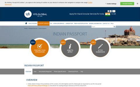 India Visa Information - UK - Passport Services - Indian Passport
