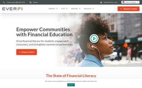 Online Financial Education that Strengthen ... - EverFi