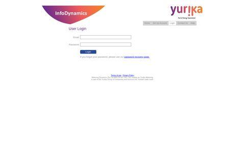User Login - InfoDynamics