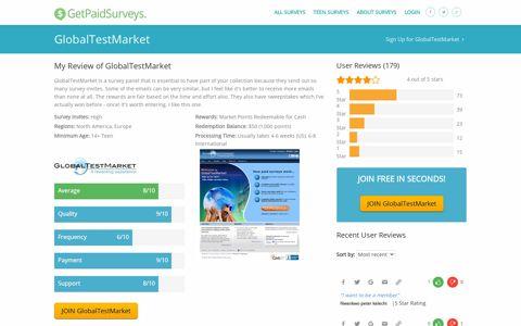 GlobalTestMarket - GetPaidSurveys.com - Take Online Paid ...