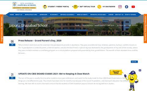 Jaipuria Ghaziabad School | Seth Anandram Jaipuria School ...