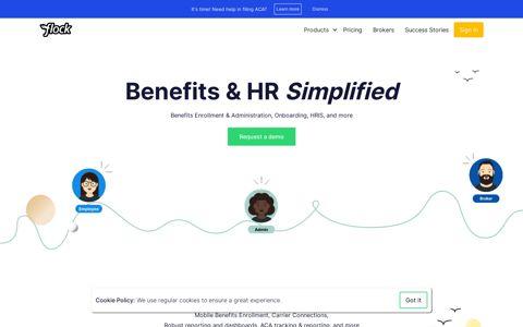 Flock - HR, Benefits & Compliance Software | Human ...