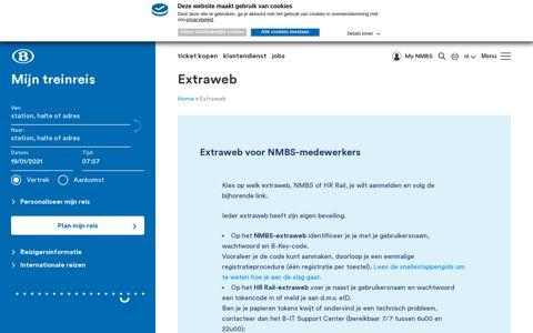 Extraweb NMBS - HR RAIL - INFRABEL   NMBS